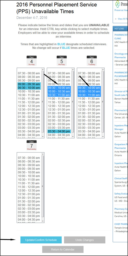 Pps Calendar.How To Use The Pps Calendar System Ashp