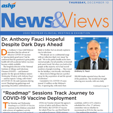 News and Views and ASHP TV